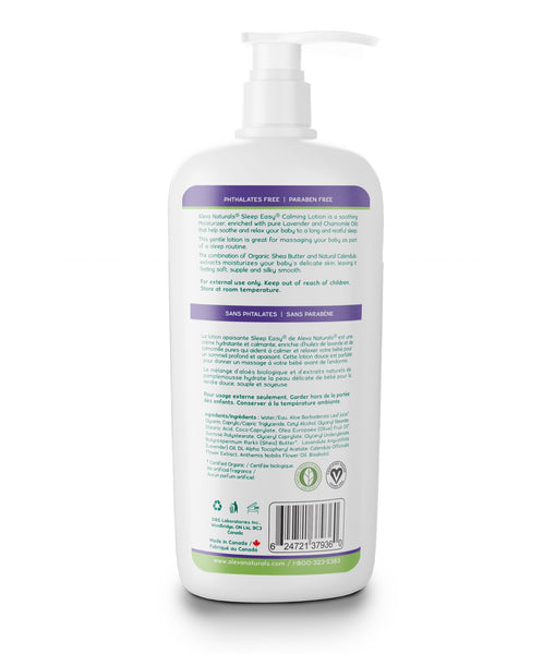 Aleva Naturals Sleep Easy Calming Lotion (8 fl.oz / 240ml)