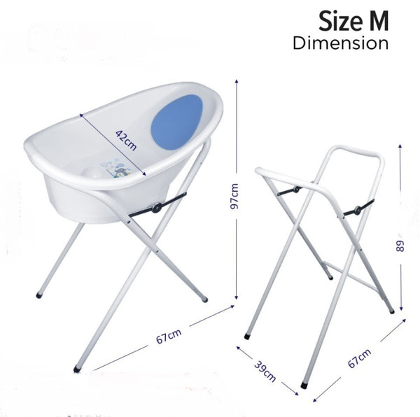 Puku Baby Bath Tub (M) with Stand