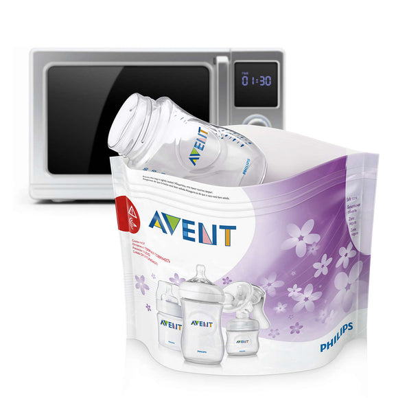 Philips Avent Microwave Steam Sterilizer Bags 5pcs