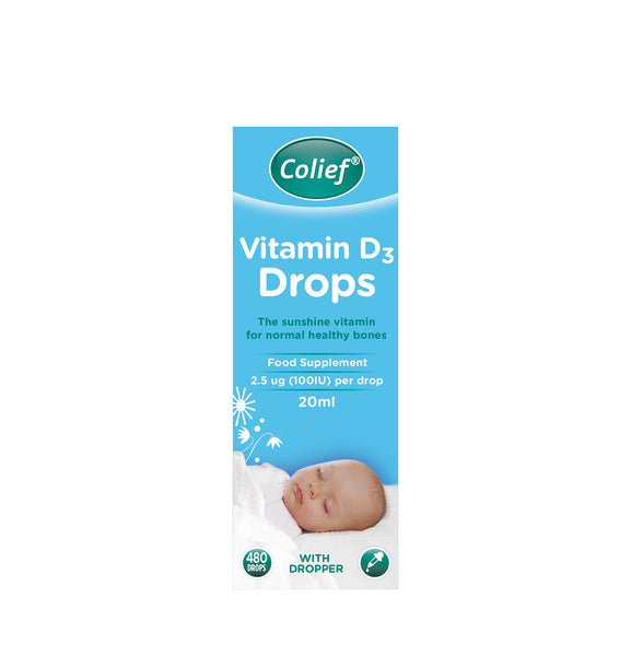 Colief Vitamin D3 Drops 20ml