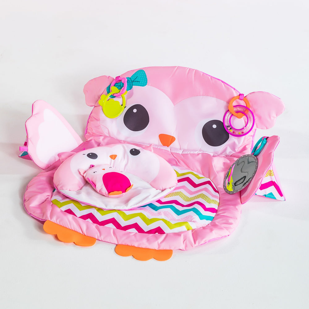 Bright Starts BS11032 (20/38) Tummy Time Prop & Play - Owl