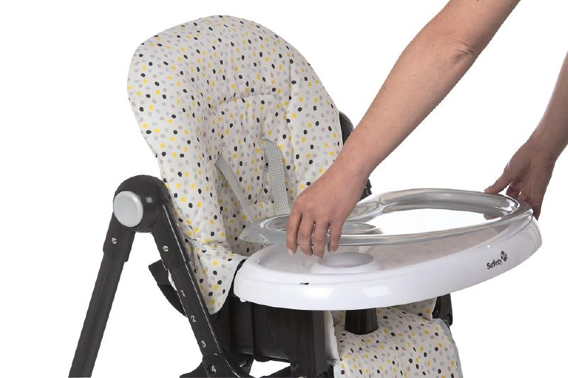 Safety 1st SFE2774-9490 (48) High Chair Kiwi - Grey Patch