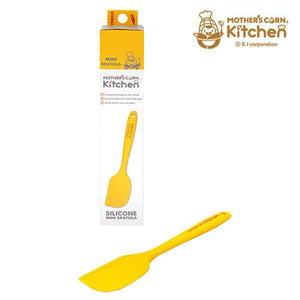 Mother's Corn Silicone Mini Spatula Yellow