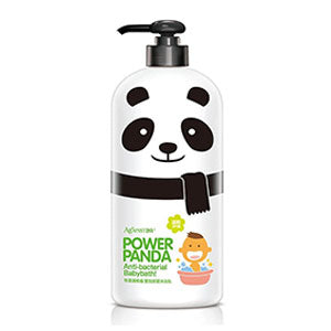 Against24 Power Panda Antibacterial Baby Bath (650ml)