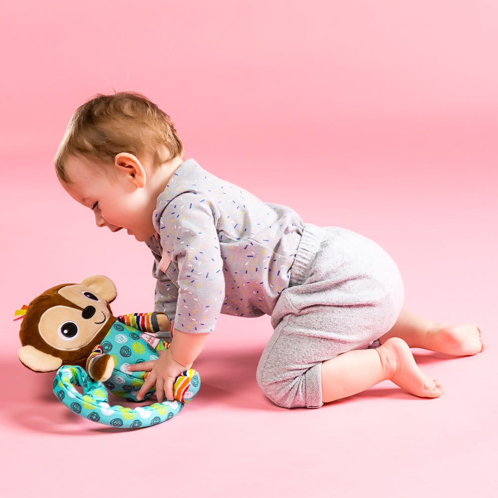 Bright Starts BS11384 (20/38) Bananas The Tickle & Tumble Monkey