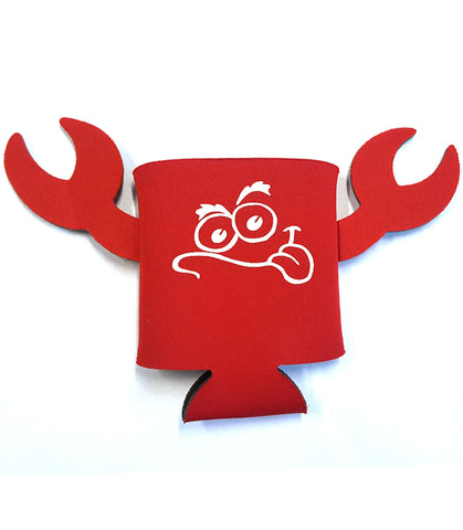 CRAZY 4 CRABS KOOZIE, RED