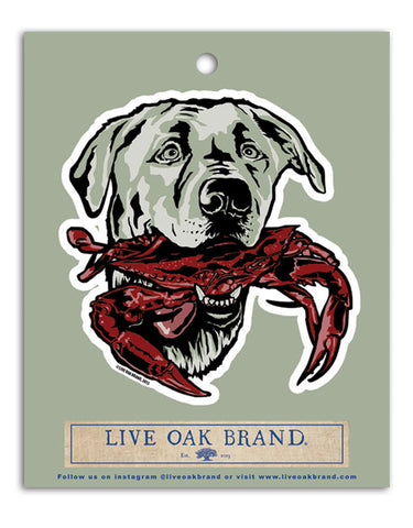 LAB CRAB DECAL