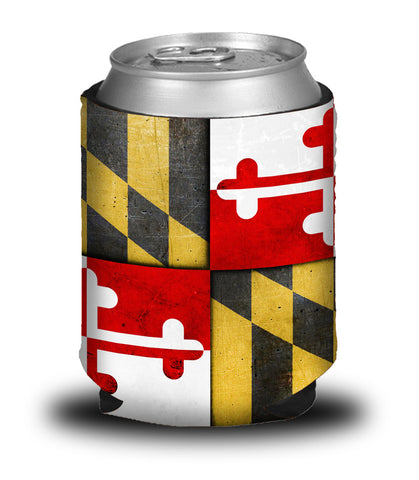 MARYLAND FLAG KOOZIE