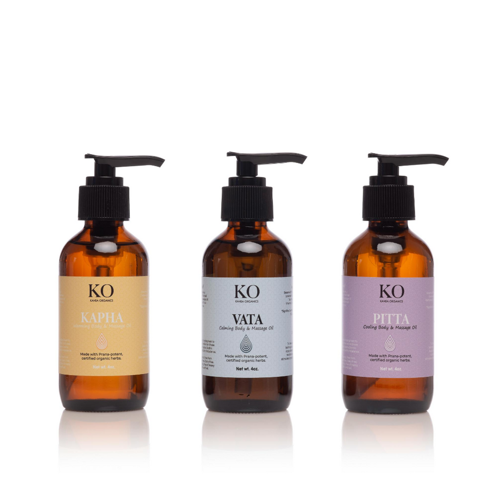 VATA - THE CALMING BODY & MASSAGE OIL - Kansa Organics