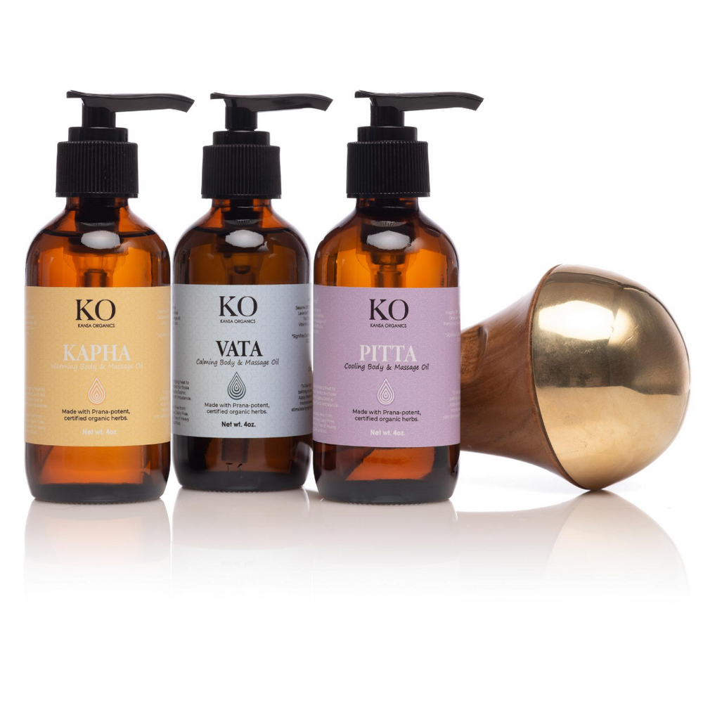 VīRYA BUNDLE - KANSA WAND + DOSHIC BODY OILS