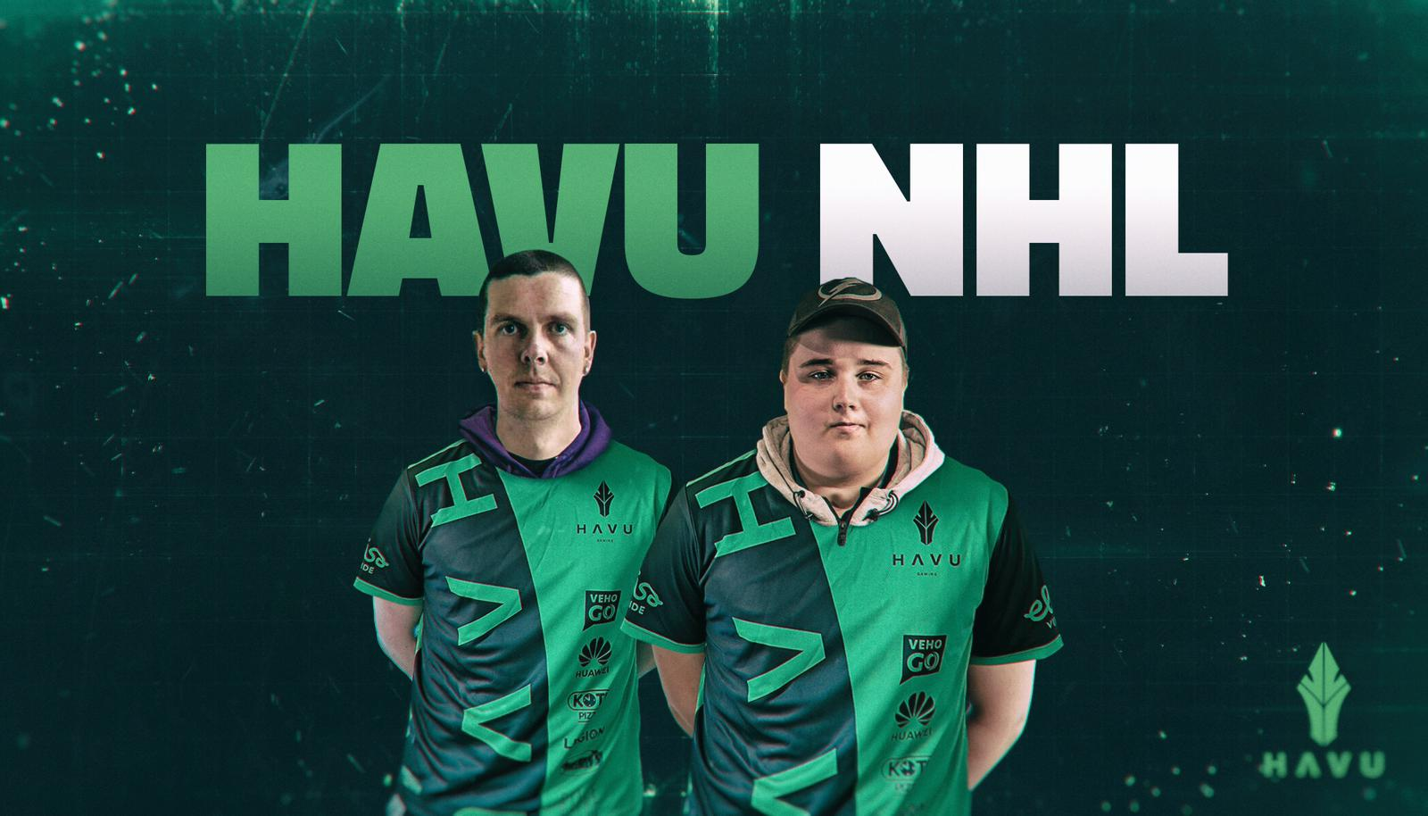 "HAVU Signs two new NHL players - Welcome ""Roke"" & ""Kriketsi""!"