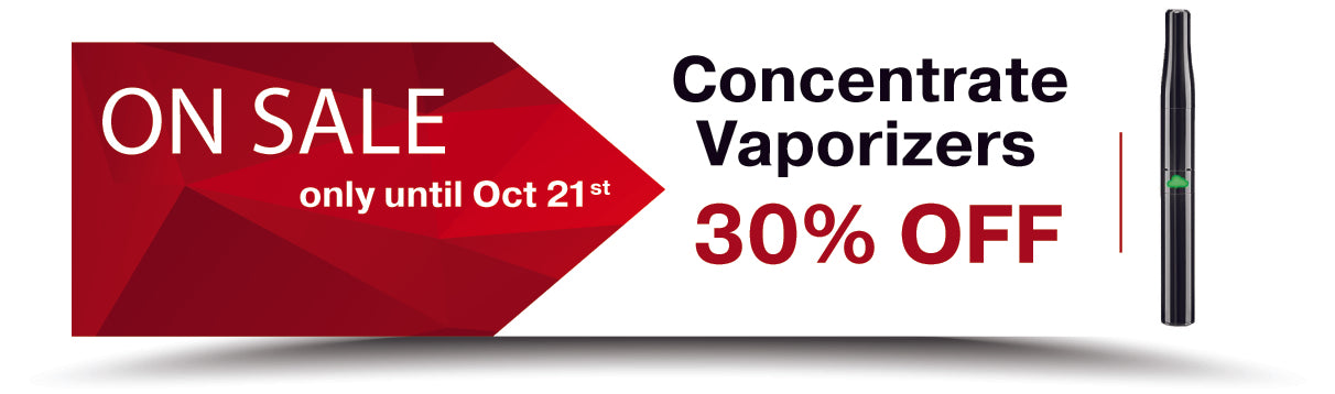 Signature Concentrate Vaporizers on SALE