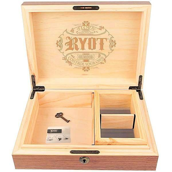 RYOT HUMIDOR - Signature by Liberty Leaf (1655041359936)
