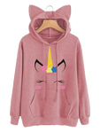 Sweats Licorne <br> Rose - Univers Licorne
