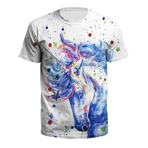 T-Shirt Licorne<br> Majestueux - Univers Licorne