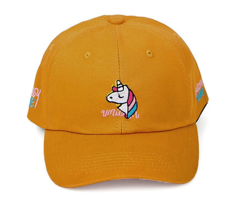 Casquette Licorne <br> Orange - Univers Licorne