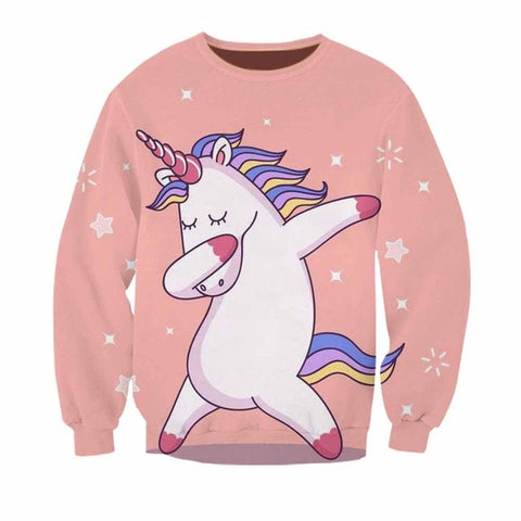 Sweats Licorne <br> Dab Shiny - Univers Licorne