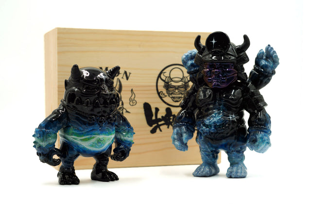 Demon Craft and Ushioni Samurai Five-off version (By unclestudio)