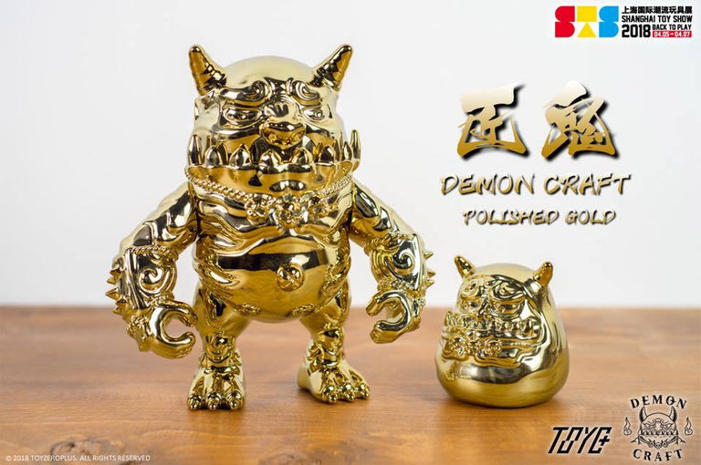 Demon Craft Daruma - Polished Gold Edition