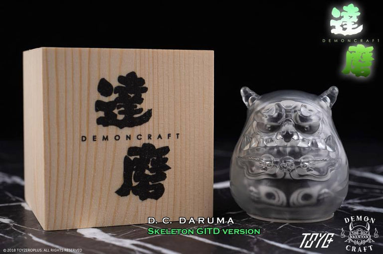 "Demon Craft Daruma - Skeleton ""GID"" Version"