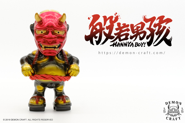 HANNYA BOY (Golden-Black Edition)