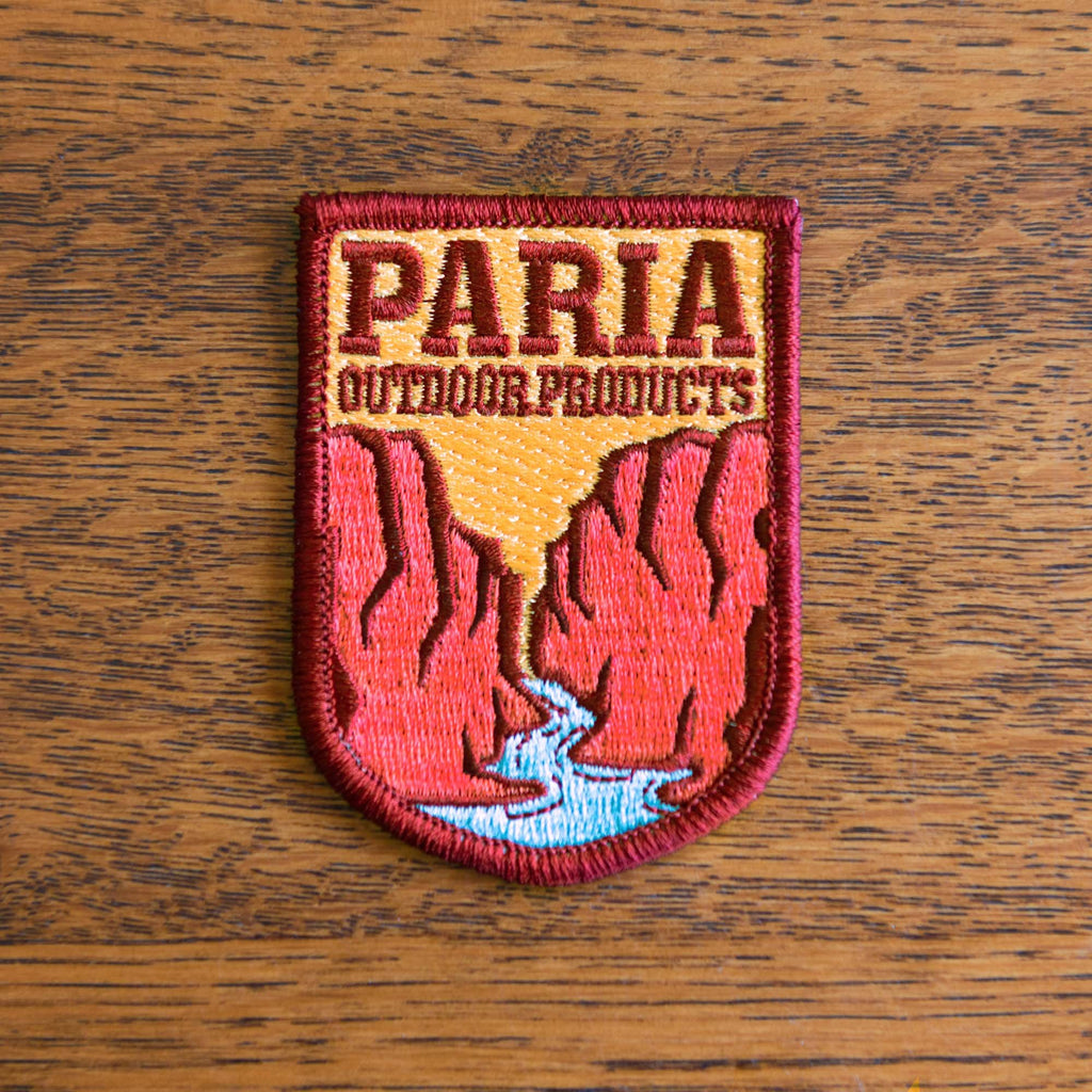 Paria Outdoor Products Logo Patches