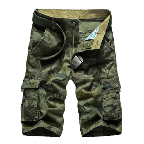 2019 Camouflage Camo Cargo Shorts Men's Military Short Pants Plus Size 29-44