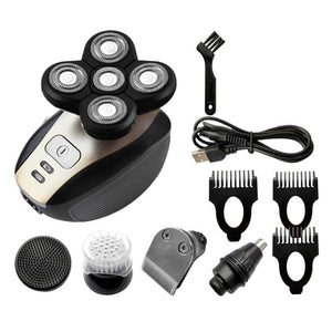 5 in 1 Electric Shaver Razor Hair Clipper Kit USB Charging Home Salon Beard Grooming Trimmer Cutting Tool