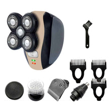 Load image into Gallery viewer, 5 in 1 Electric Shaver Razor Hair Clipper Kit USB Charging Home Salon Beard Grooming Trimmer Cutting Tool