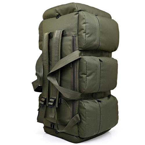 90L Large Capacity Men's Military Tactic Multifunction Waterproof Backpack