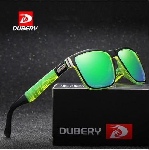 DUBERY Polarized Men's Sunglasses Driver Shades Oculos 518