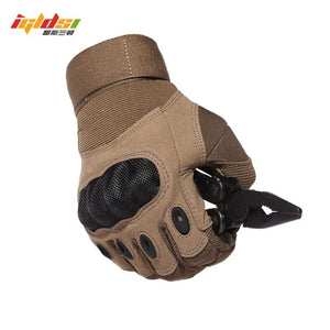 IGLDSI Tactical Army Airsoft Paintball Shooting Full Finger Military Men's Gloves