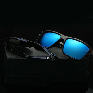 JURUI Driving Polarized High Definition Lens Outdoor UV400 Sunglasses