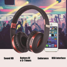 Load image into Gallery viewer, MH4 Wireless Bluetooth 5.0 Hifi Stereo Noise Canceling Deep Bass Headphone w/ Mic