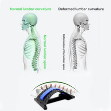 Load image into Gallery viewer, Magic Back Stretcher Lumbar Fitness Support Spine Reliever