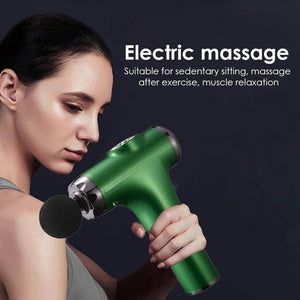 Massage Gun Deep Muscle Relief Vibrator Tissue Relaxer