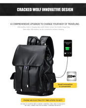 Load image into Gallery viewer, Men Fashion Elegant Style USB Charge Waterproof Backpack