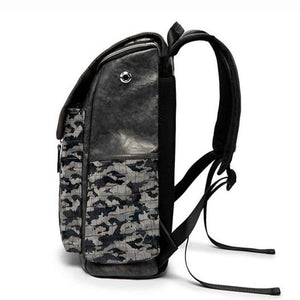 Men's Vintage Rhino Camouflage Mochila Backpack