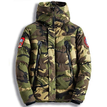 Load image into Gallery viewer, Mens Cotton Parka Casual Outerwear Jacket