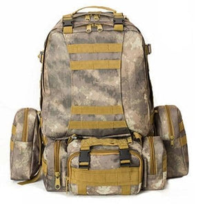 Military Army Camouflage Large-capacity High Quality 50L Multifunction Backpack