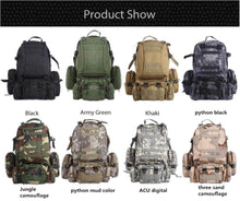 Load image into Gallery viewer, Military Army Camouflage Large-capacity High Quality 50L Multifunction Backpack