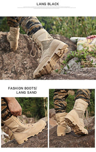 Outdoor Special Force Men's Camouflage Army Combat Work Boots