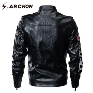 S.ARCHON Air Force Tactical Bomber  Windbreaker Pilot Military Jacket