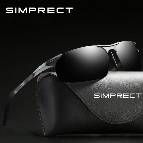 SIMPRECT 2019 Polarized Men's UV400 Lunette De Soleil Homme Sunglasses