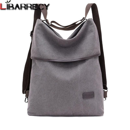 Simple Canvas Women's Backpack