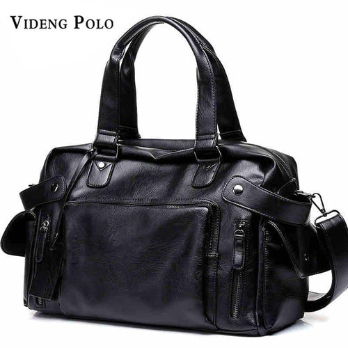 VIDENG POLO Brand High Quality Mens Travel Duffel Tote Bag