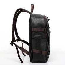 Load image into Gallery viewer, Vintage Leather Punk Leisure Style Travel Backpack
