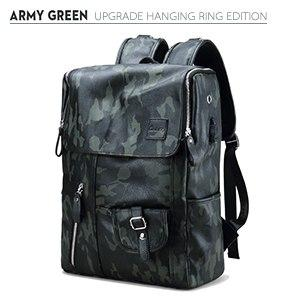 Waterproof Large Capacity Camouflage USB Charge Mochila Rucksack