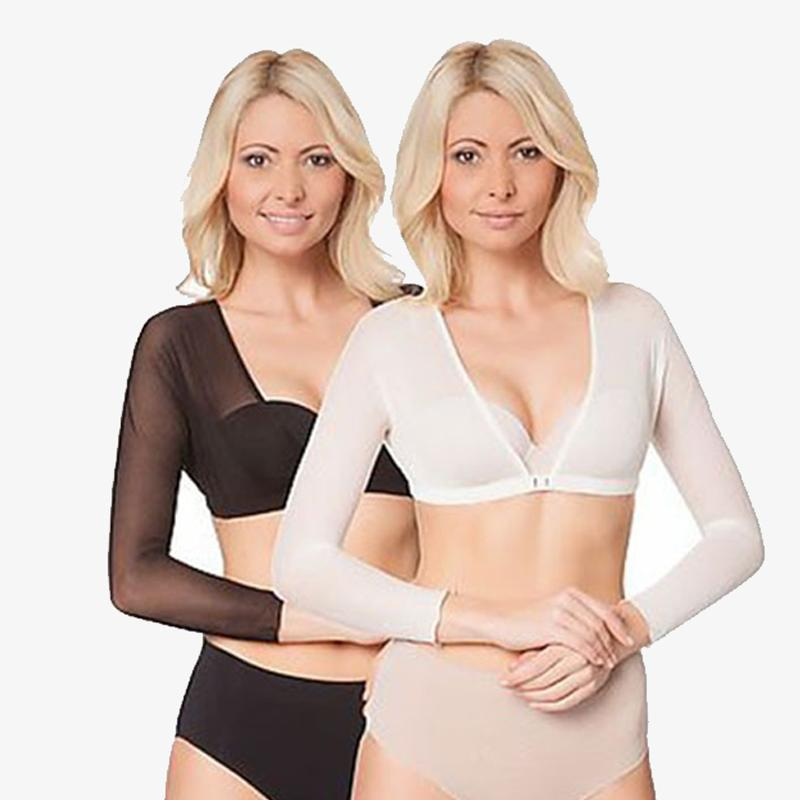 Arm Shapers Pack of 2 (Black+ Off  White)