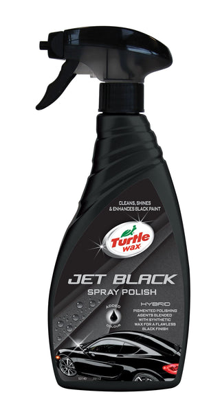 Jet Black Spray Polish Black 500 ML